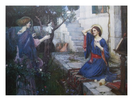 The Annunciation - J W Waterhouse