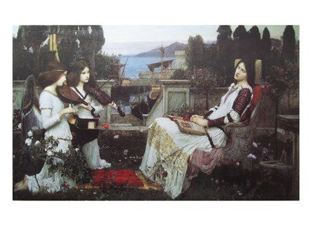 Saint Cecilia - John W Waterhouse