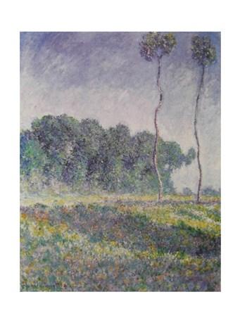Paysage De Printemps - Claude Monet