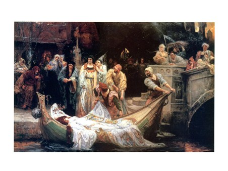 Framed The Lady Of Shalott - G E Robertson