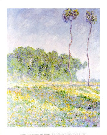 Champs de Coquelicots by Claude Monet, Fine Art Mini Mural - PopArtUK