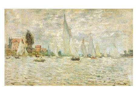 The Boats Return To Argenteuil - Claude Monet