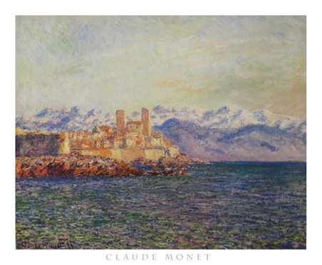 Old Fort At Antibes - Claude Monet