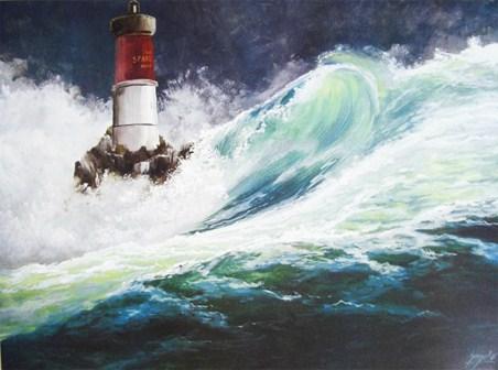 Lighthouse at Capo Spartivento - B Gianola