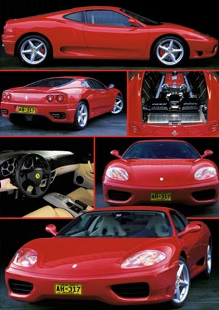 A Close look at the Ferrari Modena - Ferrari 360 Modena