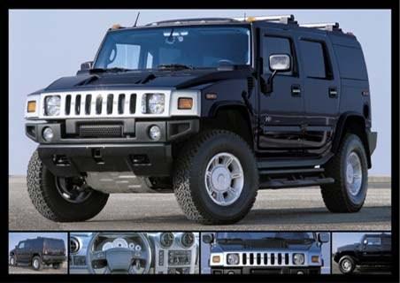 Black Stealth - Hummer