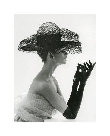 Madame Paulette in Net Hat 1963 - John French