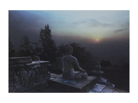 Buddha at Sunset - Ed Freeman