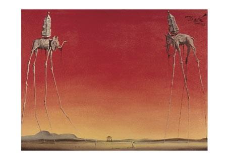 The Elephants, 1948 - Salvador Dali