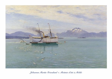 Matinée d'Eté à Molde (Morning on the Moldefjord) - Johannes Martin Grimelund