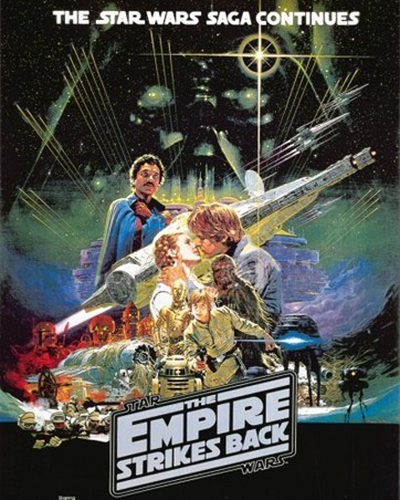 The Star Wars Saga Continues - The Empire Strikes Back