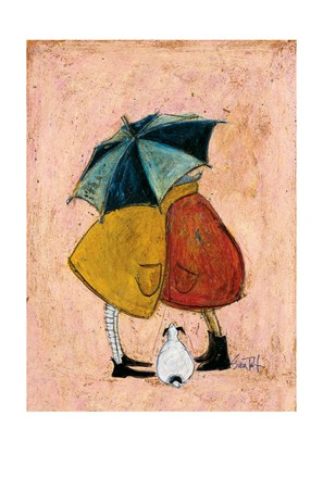 Framed A Sneaky One - Sam Toft