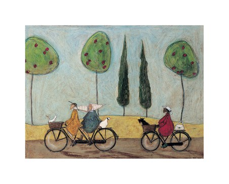 Framed A Nice Day for It - Sam Toft