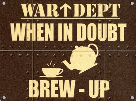 Brew-Up - War Dept.