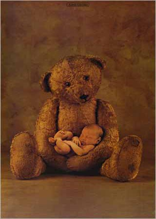 Bear and Baby - Anne Geddes