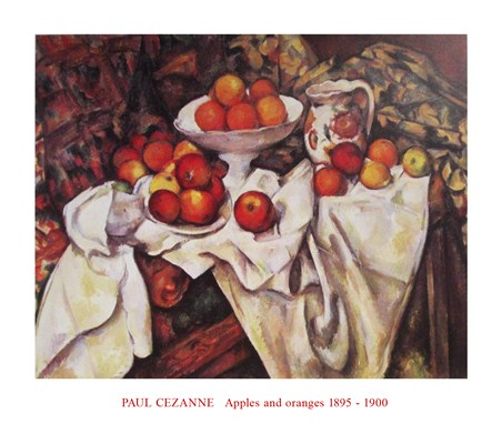 Apples and Oranges - Paul Cezanne