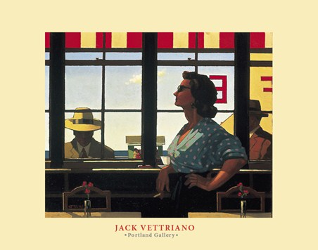 A Date with Fate - Jack Vettriano