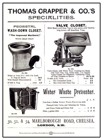 Classic Closets - Thomas Crapper and Co