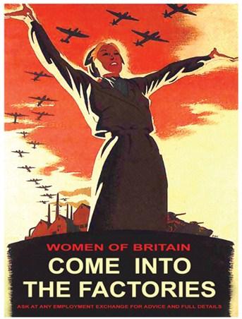 Women Of Britain Come Into The Factories British