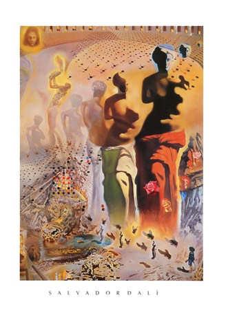 The Hallucinogenic Toreador - Salvador Dali