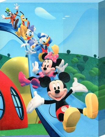 Helter Skelter Fun - Walt Disney's Mickey Mouse
