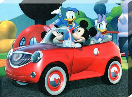 Off For A Drive In The Mickey-Mobile - Walt Disney's Mickey Mouse