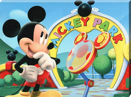 Mickey & Toodles - Walt Disney's Mickey Mouse