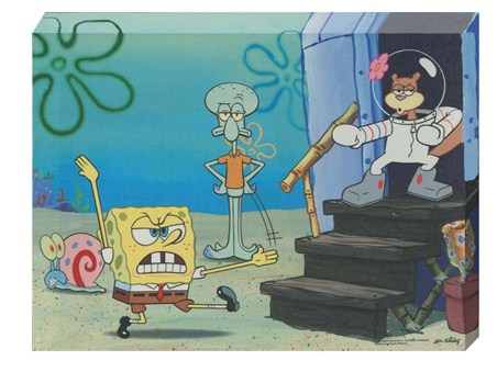Fun with Spongebob, Squidward and Sandy - Spongebob Squarepants