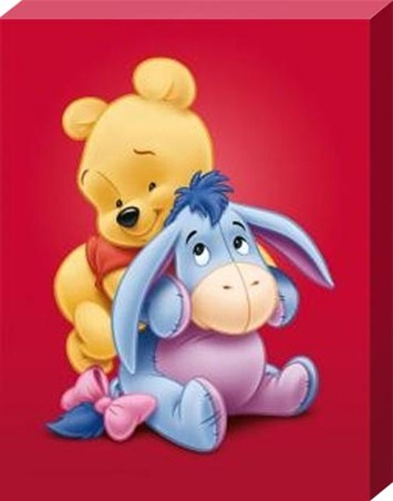A Cuddle for Baby Eeyore - Winnie The Pooh