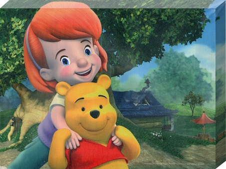 Darby and her friend Pooh! - Disney's My Friends Tigger & Pooh