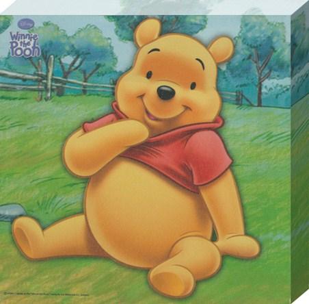 Pooh Bear - Disney Canvas Print