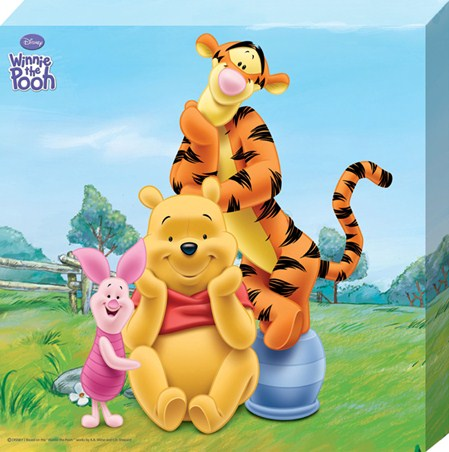 Fun with Pooh, Piglet and Tigger - Winnie The Pooh
