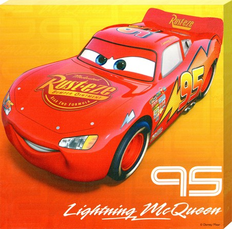 Hot Shot Race Car Lightning McQueen - Disney Cars; The Movie