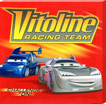 The Vitoline Racing Team - Disney Cars; The Movie