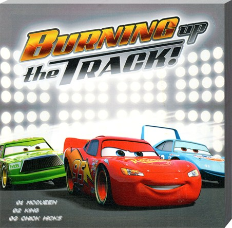 Burning Up the Track! - Disney Cars; The Movie