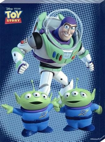 Oooohh! Buzz Lightyear & The Aliens - Disney Pixar's Toy Story