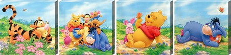 Big Box Winnie the Pooh Canvas Collection - Winnie the Pooh