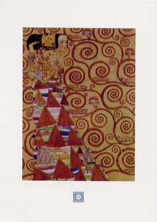 Stoclet Frieze, Expectation, 1905-09 - Gustav Klimt