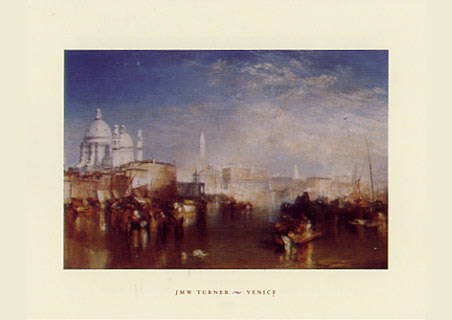 Venice,  1840 - Joseph Mallard William Turner