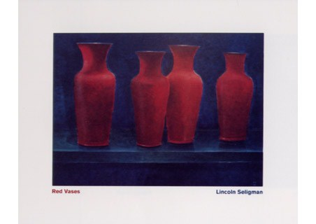 Red Vases - Lincoln Seligman