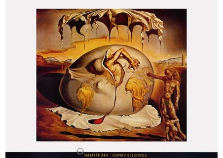 Geopoliticus Child, 1943 - Salvador Dali