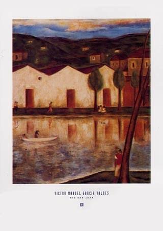 Framed Rio San Juan - Victor Manuel Garcia Valdes