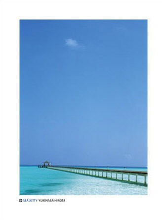 Sea Jetty in the Maldives - by Yukimasa Hirota