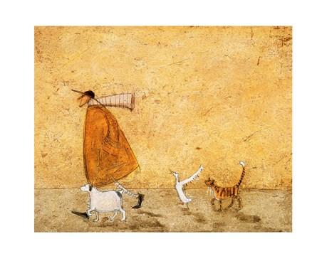 Ernest, Horace, Doris and Stripes - Sam Toft