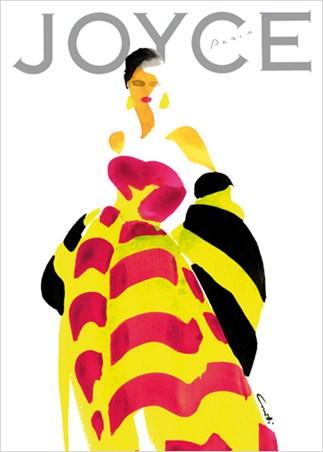 Fashion Magazine Cover - Joyce Paris