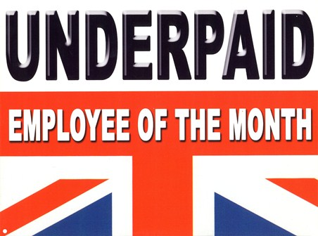 Underpaid - Employee of the Month