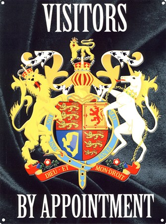 Visitors by Appointment - Coat of Arms