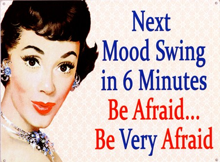 Be Afraid! - Mood Swing Alert