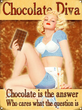 Chocolate Is The Answer - What Was The Question?