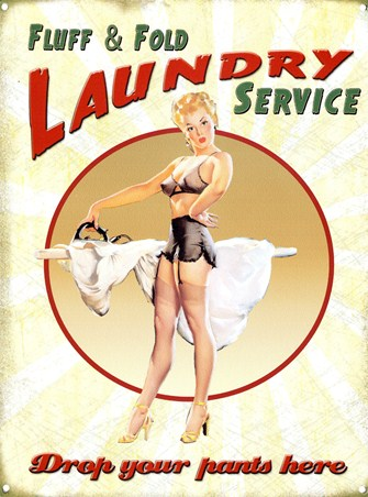 Drop Your Pants Here - Laundry Service